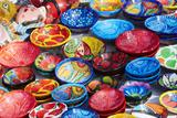 Mexico, Jalisco. Bowls for Sale in Street Market Foto von Steve Ross
