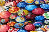 Mexico, Jalisco. Bowls for Sale in Street Market Photo by Steve Ross