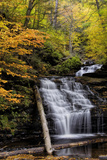 USA, Pennsylvania, Benton. Waterfall in Ricketts Glen State Park Photo by Jay O'brien