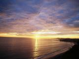 USA, California, Santa Barbara, Sea at Sunset Photographie par Zandria Muench Beraldo