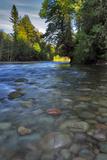 USA, Oregon, Mt. Hood National Forest. Sandy River Landscape Photo by Steve Terrill