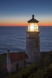 Heceta Head Lighthouse Along the Oregon Coast, USA Fotografia por Brian Jannsen