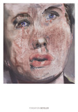 For Whom the Bell Tolls Print by Marlene Dumas