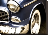 Classic Blue II Stretched Canvas Print by Ryan Hartson-Weddle