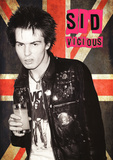 Sid Vicious- Holland 1977 Affischer