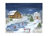 Vintereventyr Kunst af Marilyn Dunlap