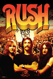 Rush- Band And Fans Plakater