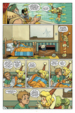 Little Nemo: Return to Slumberland - Comic Page with Panels Pósters por Gabriel Rodriguez