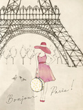 Sketchbook Paris I Kunstdrucke von Lottie Fontaine