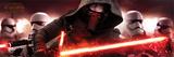 Star Wars: The Force Awakens- Kylo Ren & Stormtroopers Plakat