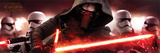 Star Wars: The Force Awakens- Kylo Ren & Stormtroopers Poster