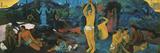 D'où venons-nous Que sommes-nous Où allons-nous Reproduction procédé giclée par Paul Gauguin