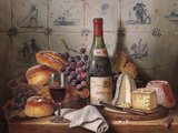Una buena comida Lámina giclée por Raymond Campbell