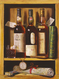 Whisky de malta Lámina giclée por Raymond Campbell