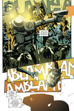 Zombies vs. Robots: No. 9 - Comic Page with Panels Poster di Antonio Fuso