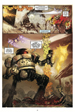 Zombies vs. Robots: Volume 1 - Comic Page with Panels Láminas por Anthony Diecidue