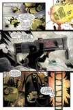 Zombies vs. Robots: Undercity - Comic Page with Panels Pósters por Mark Torres