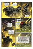 Zombies vs. Robots: Volume 1 - Comic Page with Panels Poster av Anthony Diecidue