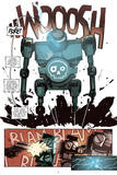 Zombies vs. Robots: No. 10 - Comic Page with Panels Stampe di Antonio Fuso