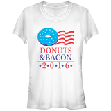 Women's: Donut & Bacon Ticket 16 Shirt