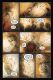 30 Days of Night: Eben & Stella - Comic Page with Panels Bilder av Justin Randall