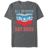 All In Favor Say Beer Tshirts