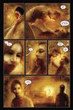 30 Days of Night: Eben & Stella - Comic Page with Panels Plakat av Justin Randall