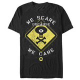 Monsters University- Scare Warning T-skjorter