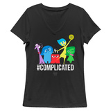 Women's: Inside Out- Complicated Tshirts