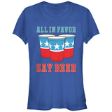 Women's: All In Favor Say Beer T-Shirts