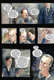 30 Days of Night: Three Tales - Comic Page with Panels Photo by  Milx