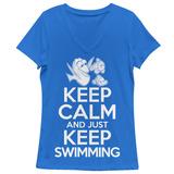 Women's: Finding Dory- Keep Calm & Swim On T-Shirts