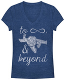 Women's: Toy Story- Infinity Buzz T-skjorter