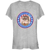 Women's: Cat For Prez T-shirts