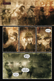 30 Days of Night: Eben & Stella - Comic Page with Panels Poster av Justin Randall