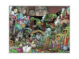 Locke and Key: Volume 1 Welcome to Lovecraft - Page Spread Posters av Gabriel Rodriguez