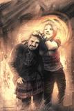 30 Days of Night: Eben & Stella - Cover Art Plakater av Justin Randall