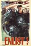 Fallout 4- Enlist Kunstdrucke