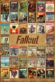 Fallout 4- Pulp Fiction Compilation Affiches