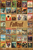 Fallout 4- Pulp Fiction Compilation Stampe