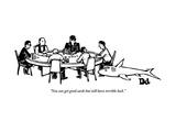 """You can get good cards but still have terrible luck."" - New Yorker Cartoon Premium Giclee-trykk av Drew Dernavich"