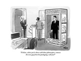 """Firkins, when you're done with those photocopies, remove the new guy from"" - New Yorker Cartoon Premium Giclee Print by Kaamran Hafeez"