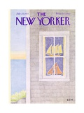 The New Yorker Cover - July 23, 1973 Premium Giclee Print by Charles E. Martin