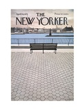 The New Yorker Cover - April 14, 1973 Premium Giclee Print by Charles E. Martin