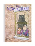 The New Yorker Cover - December 14, 1968 Premium Giclee Print by William Steig