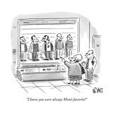 """I knew you were always Mom's favorite!"" - New Yorker Cartoon Reproduction giclée Premium par Christopher Weyant"