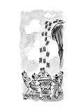 Save the Lemmings - New Yorker Cartoon Premium Giclee Print