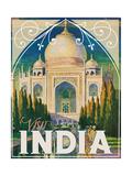 Visit India Reproduction procédé giclée