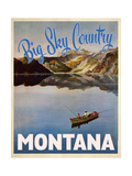 Big Sky Country Giclée-Druck
