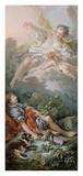 Aurora and Cephalus (detail) Affiches par Francois Boucher